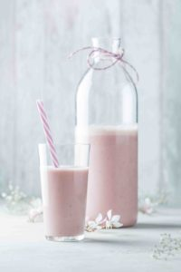 Visuel smoothie au soja